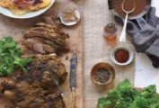 Leg of Lamb with Moroccan Spices