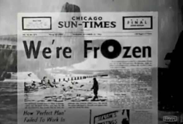 We're Frozen!