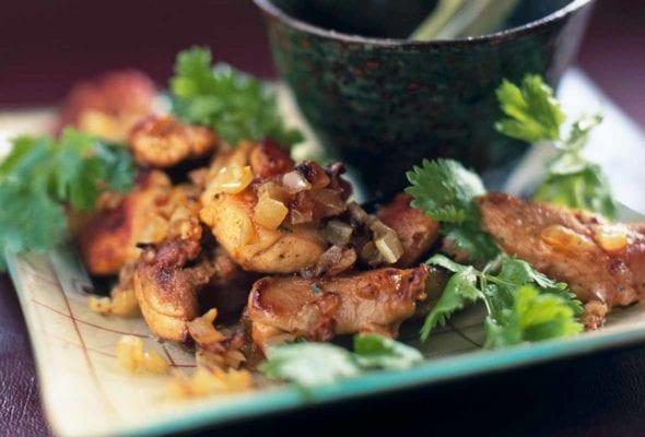Port-Paprika Chicken Bites
