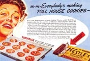 Toll House Cookies Ad
