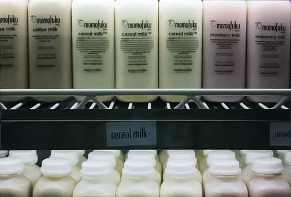 Cereal Milk Bottles