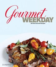 Buy the Gourmet Weekday cookbook