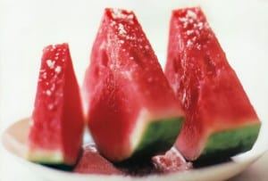 Watermelon with Salt