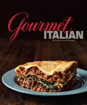 Buy the Gourmet Italian cookbook