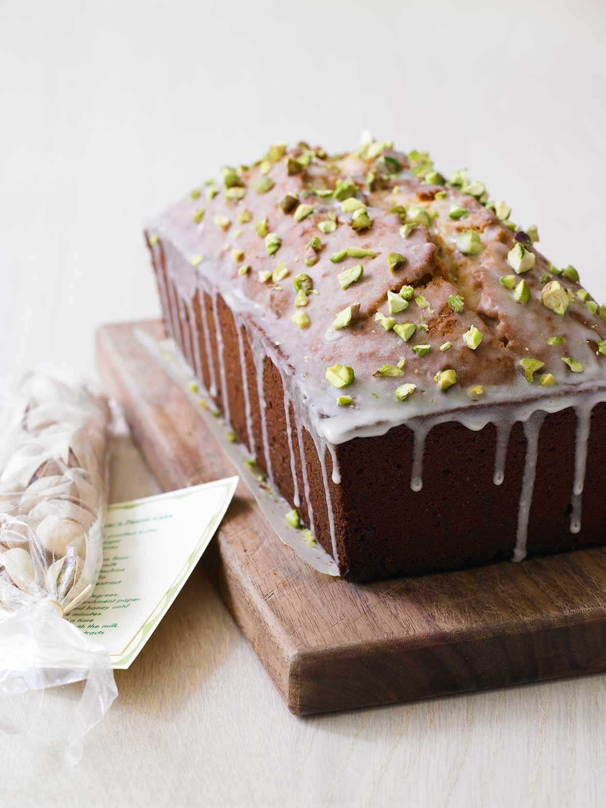 Pistachio Lover's Pound Cake