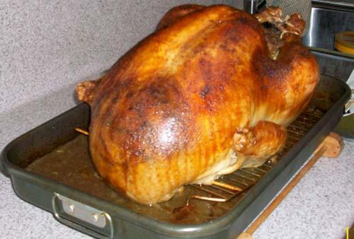 John Peru's turkey