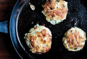 Goat Cheese Potato Cakes