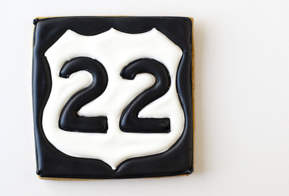 Route 22 Cookie