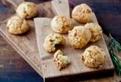 Prosciutto Parmesan Puffs