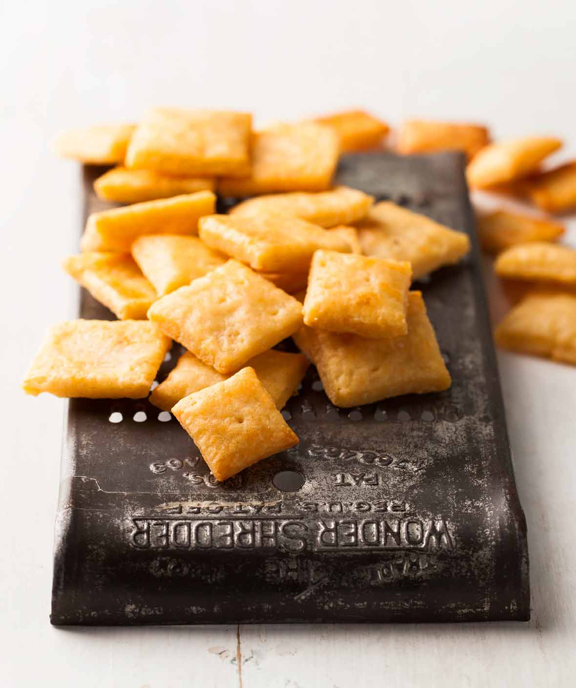 Cheesy Cracker Squares