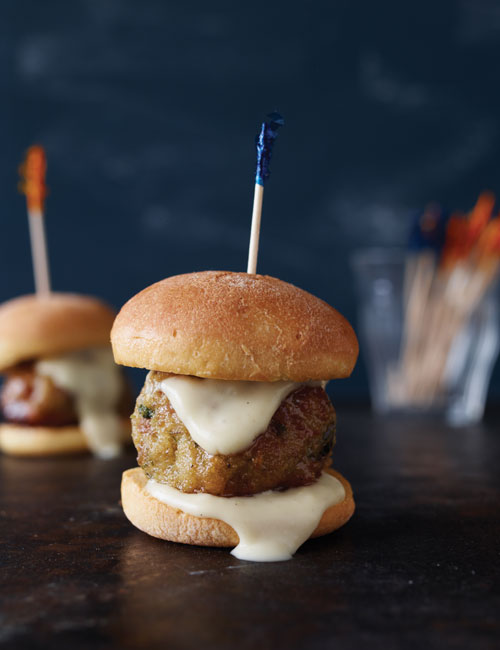 Chicken Meatball Slider