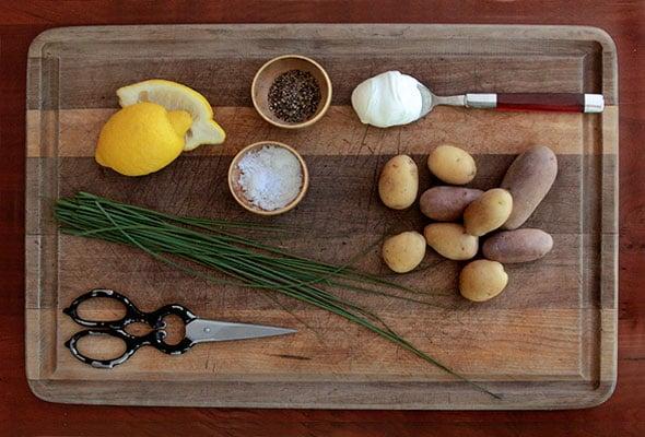 Crème Fraîche Potato Salad