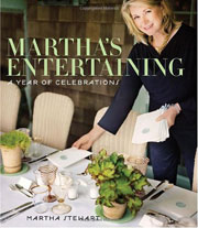 Buy the Martha's Entertaining cookbook