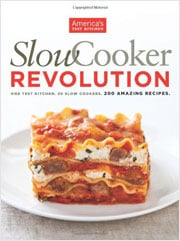 Buy the Slow Cooker Revolution cookbook