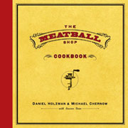Buy the The Meatball Shop Cookbook cookbook