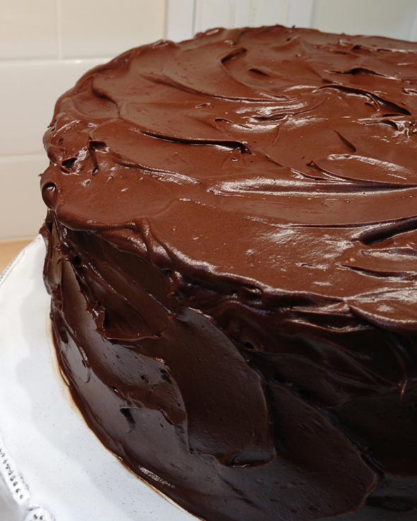 Dark Choc Cake Recipe