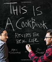 Buy the This Is a Cookbook cookbook