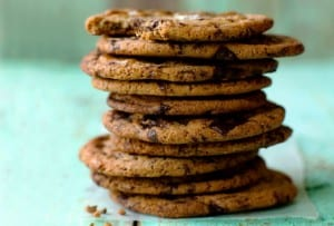 Thousand Layer Chocolate Chip Cookie