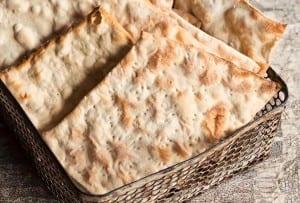 Homemade Matzoh