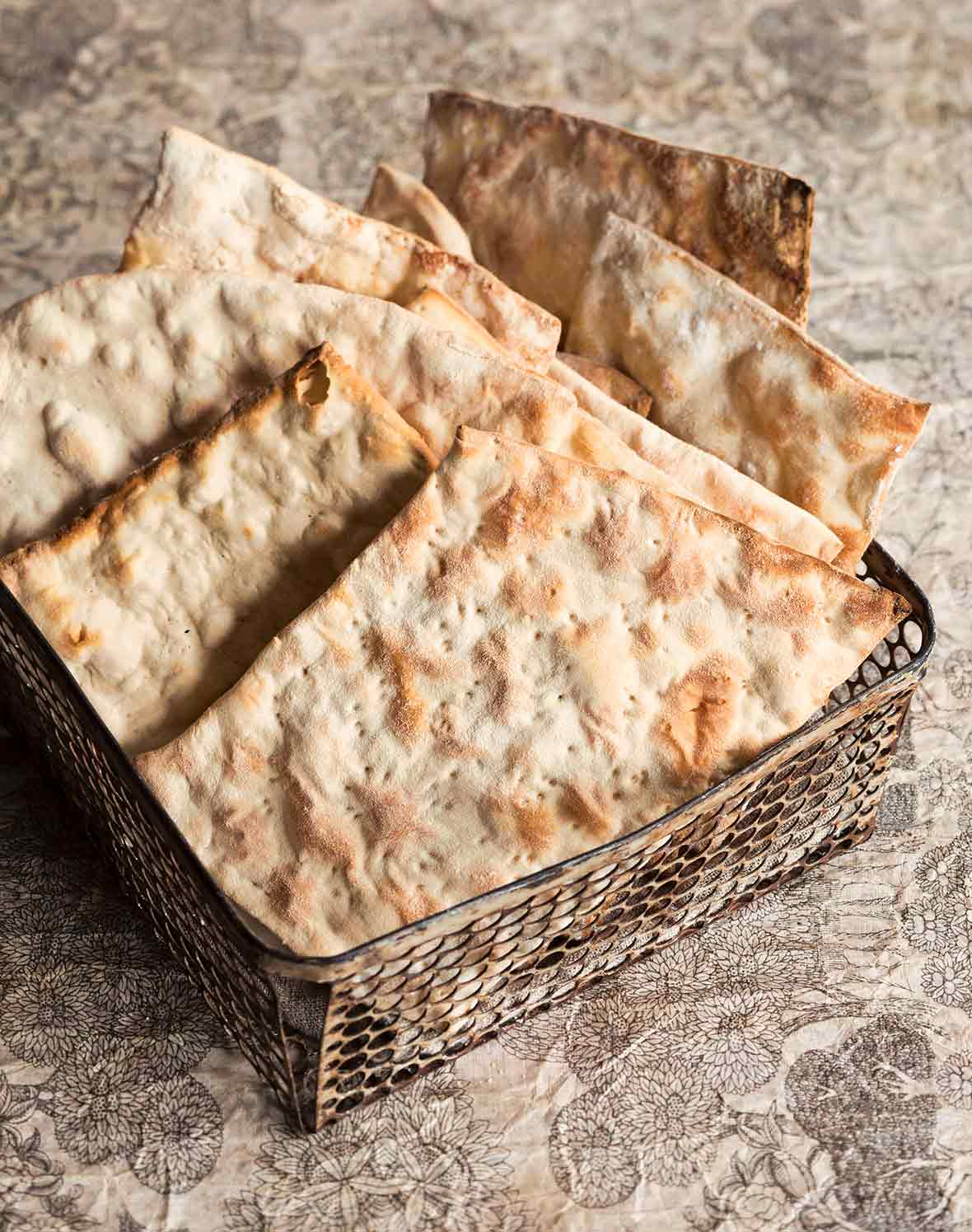 Homemade Matzoh