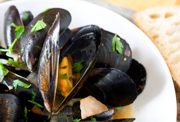 Mussels in Beer