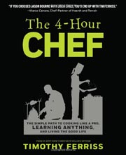 Buy the The 4-Hour Chef cookbook