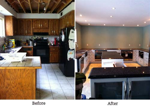 Louise's Before and After Kitchen