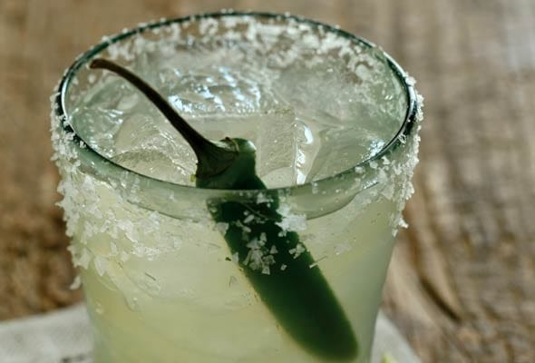 Chile-Spiked Margarita
