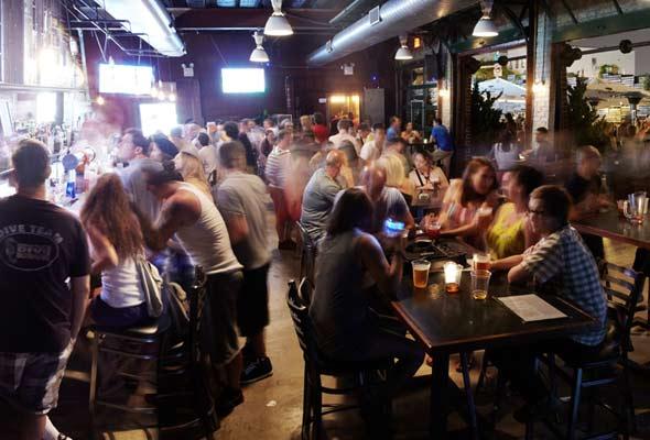 New York Bar Scene