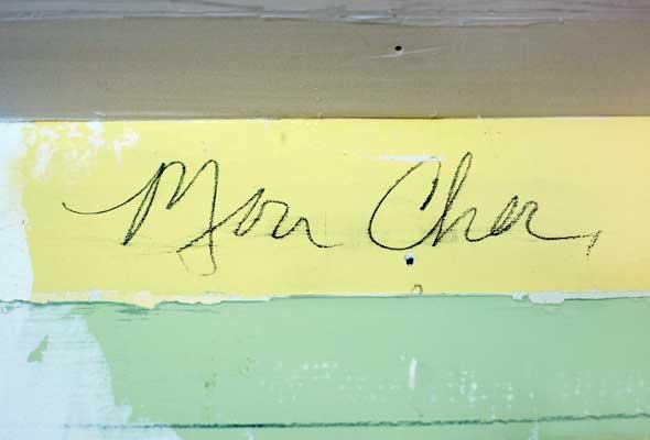 Mon Cher...