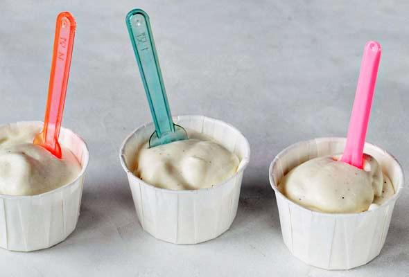 Cardamom Yogurt Mousse
