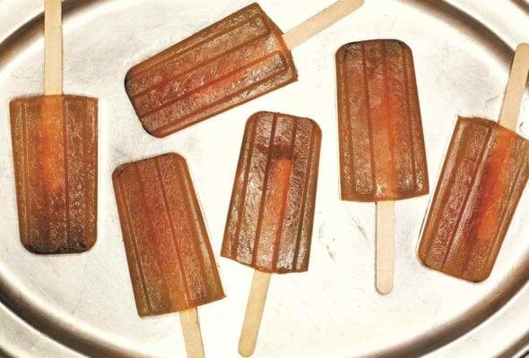 Iced Tea Popsicles