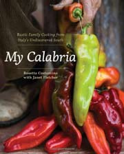 Buy the My Calabria cookbook