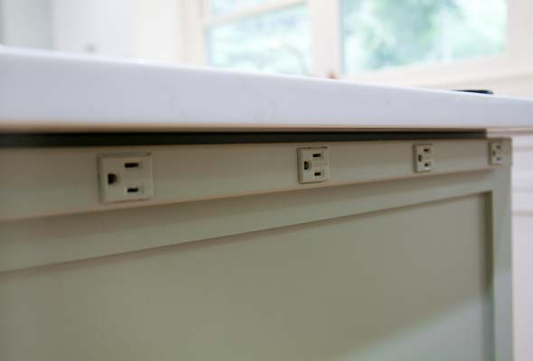 Under-counter Outlet Strips