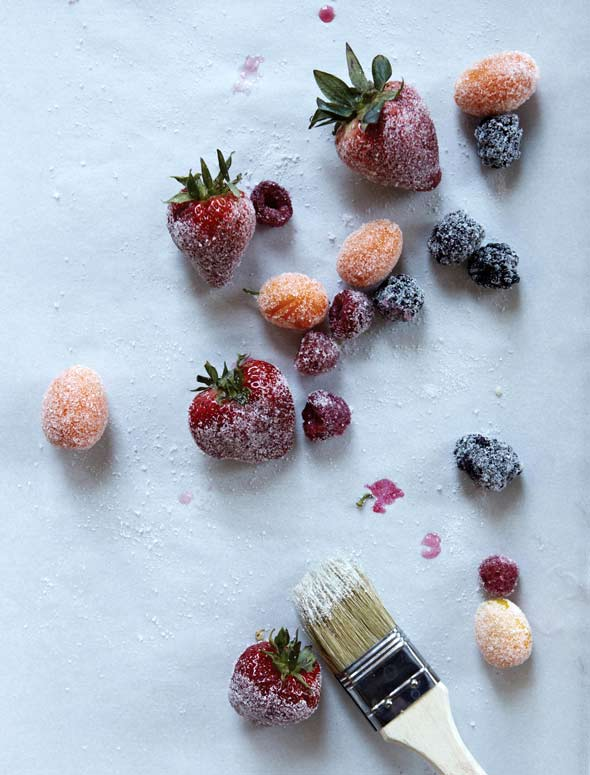 Sugar-Dipped Fruit