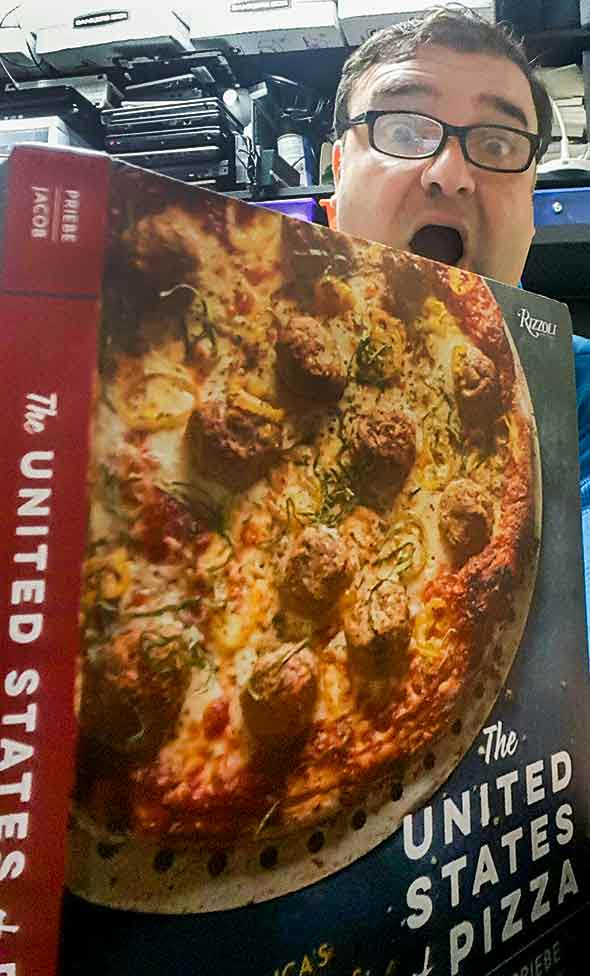 United States of Pizza Cookbook
