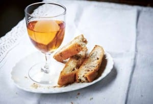 Biscotti with Sweet Wine