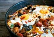 Spanish Egg and Vegetable Skillet
