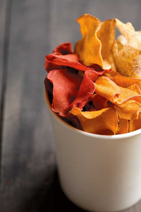 Homemade Vegetable Chips
