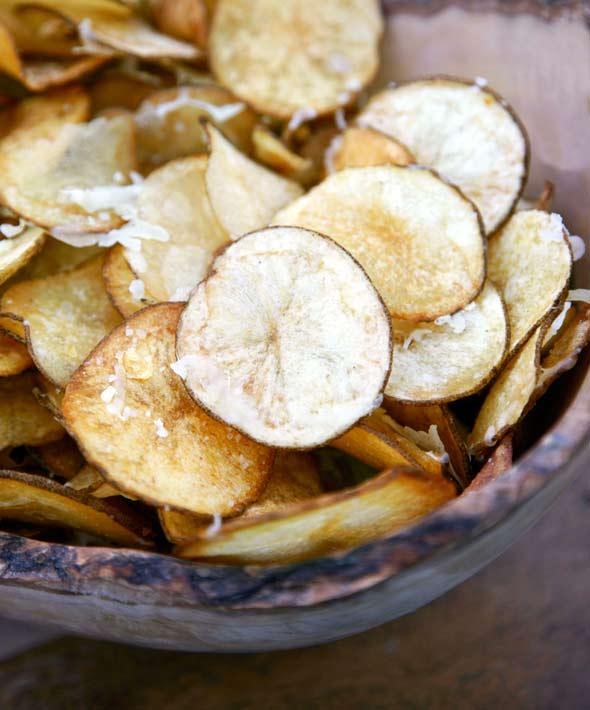 Manchego Potato Chips