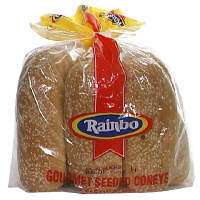 Rainbo Gourmet Seeded Hot Dog Buns