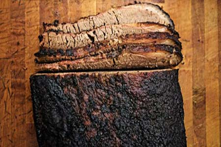 Smoked Brisket with Coffee