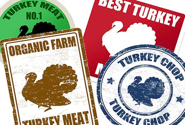 Turkey Labels
