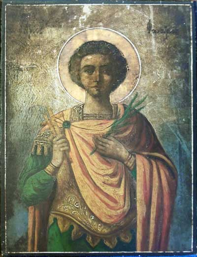 St. Phanourios Icon