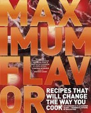 Buy the Maximum Flavor cookbook