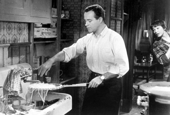 Jack Lemmon in The Apartment