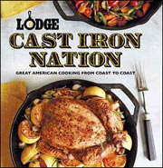 Buy the Lodge Cast Iron Nation cookbook