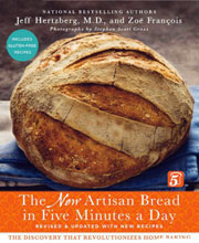 Buy the The New Artisan Bread in Five Minutes a Day cookbook