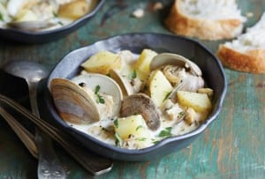 North Carolina Clam Chowder