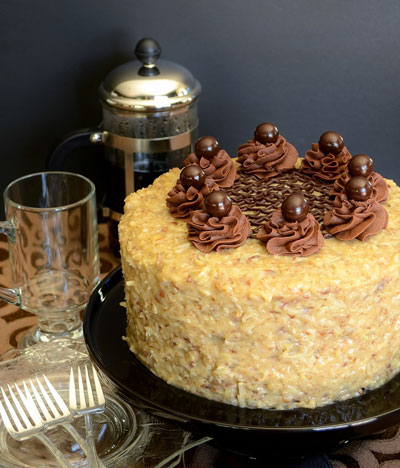 Brooks Walker's German Chocolate Cake